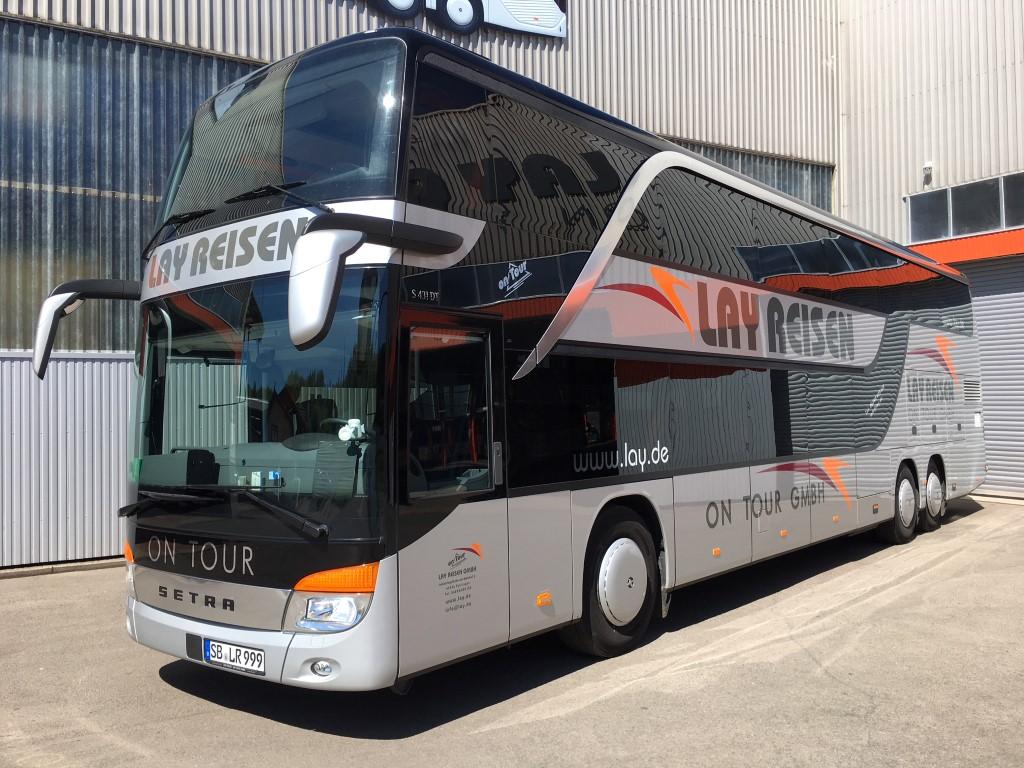 Doppeldecker-Fernreisebus Setra 431 DT